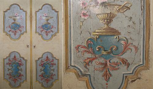Porte e finestre artigianali in legno antico - Porte decorate antiche ...