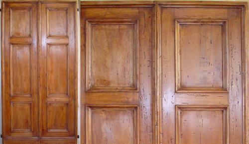 Porte e finestre artigianali in legno antico - Porte e finestre ostia ...